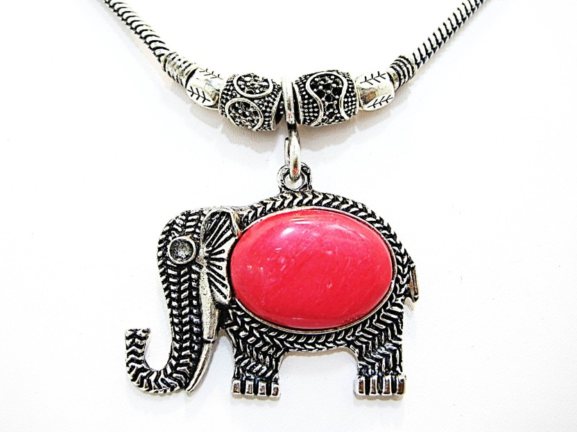 Muccasacra very popular Lovely Baby Pink Stone, Alloy, Sterling Silver Necklace