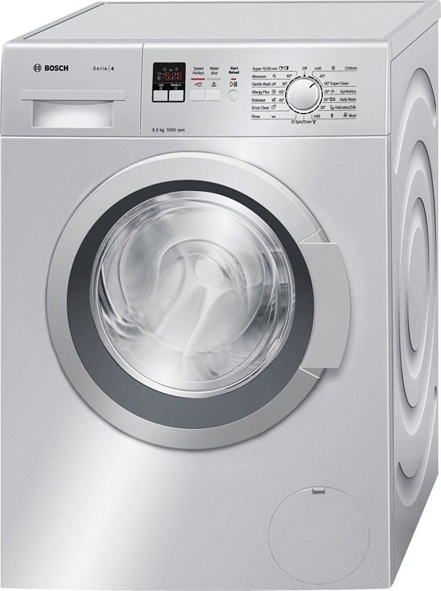 Bosch 6.5 kg Fully Automatic Front Load Washing Machine Silver