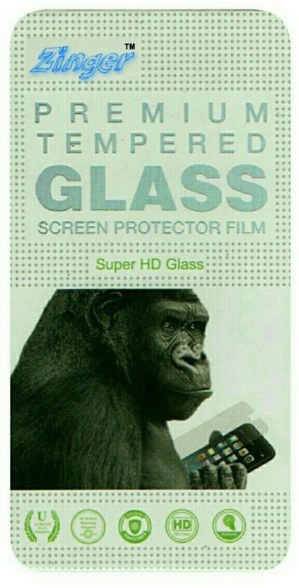ZINGER Tempered Glass Guard for MICROMAX CANVAS DOODLE A111