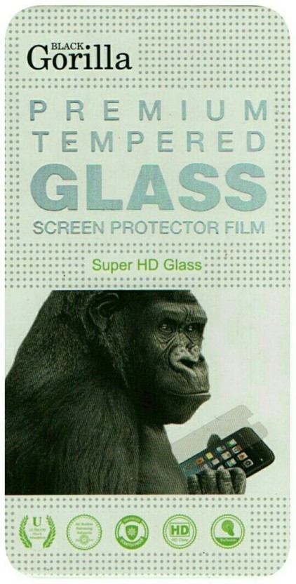 BLACK GORILLA Tempered Glass Guard for Sony Xperia E3