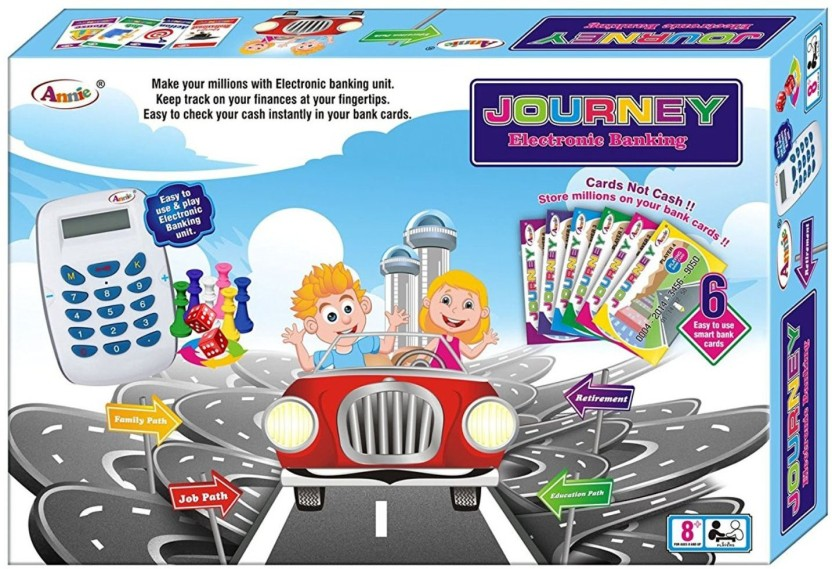 Goyal Annie Journey Electronic Banking Board Game Board Game