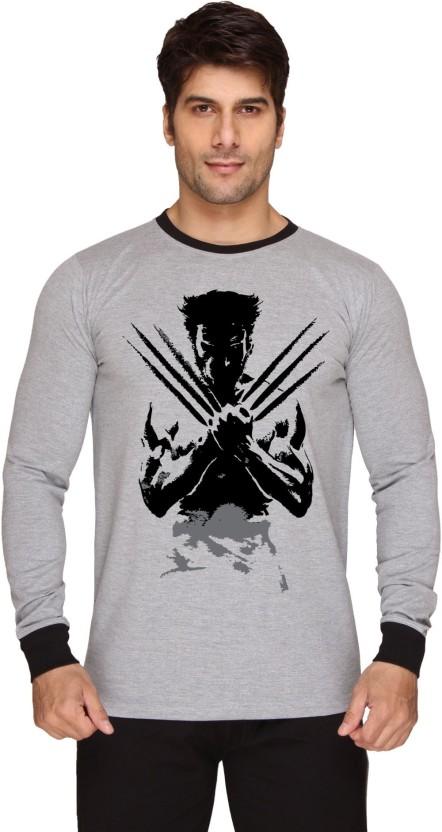 Billion PerfectFit Solid Men Round Neck Grey, White T-Shirt