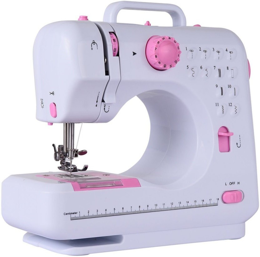 Wonder World ™ Fashion Plus 12-Stitch Two Speed Double Thread Lightweight Electric Sewing Machine