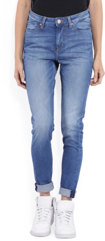 yash.s.s Slim Women Blue Jeans
