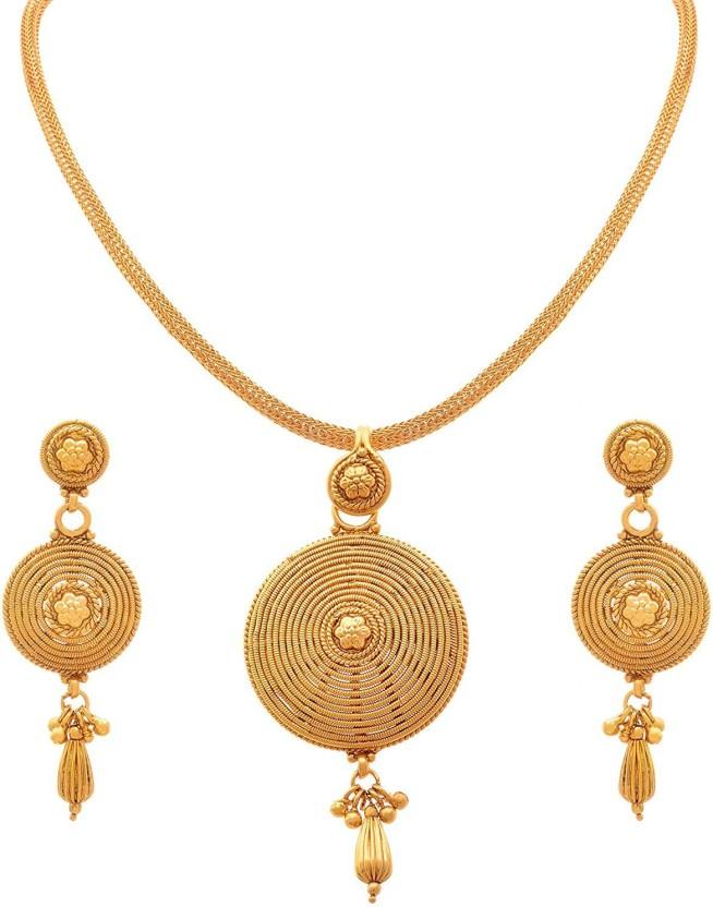JFL-Jewellery For Less Copper Jewel Set