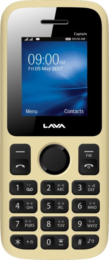 Lava Z60 (Gold, 16 GB)
