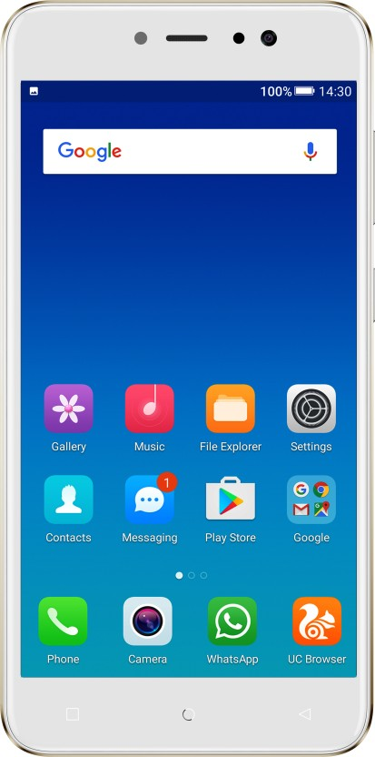 Gionee A1 Lite (Gold, 32 GB)