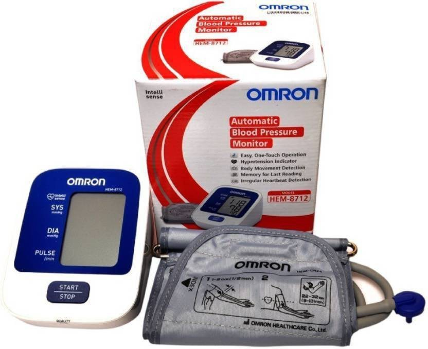 OMRON 8712 with 5 years extended warranty Bp Monitor