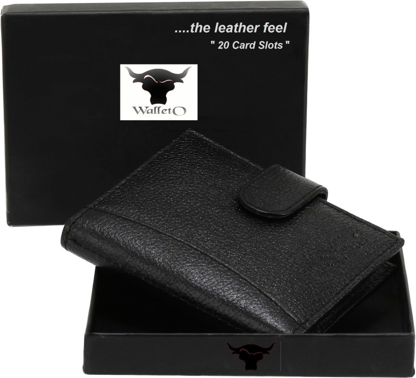 Style 98 100% Pure Leather 15 Card Holder