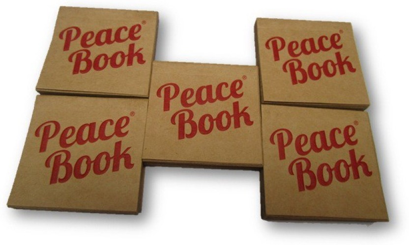A Bawa Initiative PEACE BOOK Wide Rolling Paper Tips Pack of 5 Booklets from AUTHORISED Seller SUDESH ENTERPRISES Assorted Hookah Flavor