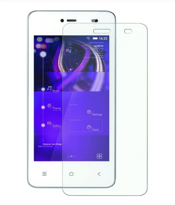Fortune Mart Tempered Glass Guard for Gionee Pioneer P2