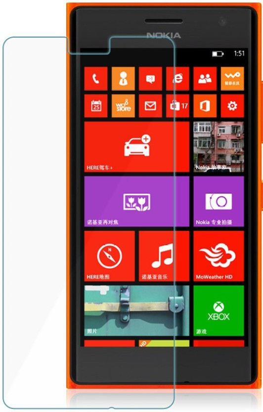 Friend Mild Tempered Glass Guard for Nokia Lumia 735