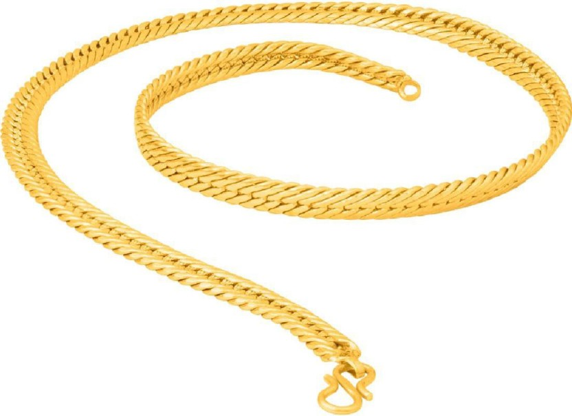 Voylla Designer Chain For Men From Dare By Voylla Yellow Gold Plated Brass Chain
