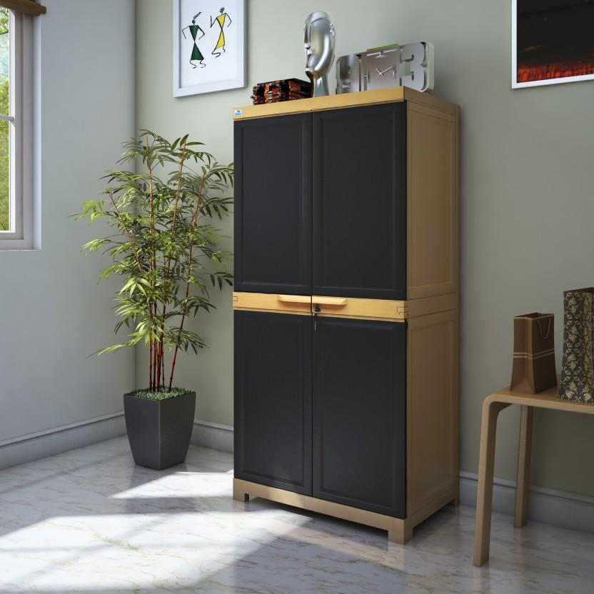 Nilkamal Freedom Mini Medium Plastic Free Standing Cabinet