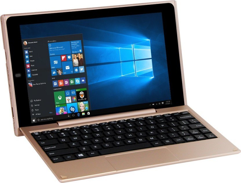venturer Atom Quad Core 2nd Gen - (2 GB/32 GB HDD/32 GB SSD/32 GB EMMC Storage/Windows 10/2 GB Graphics) WT19803W97DK 2 in 1 Laptop
