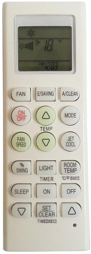 Nobita Compactible Universal LG AC Remote Control For Air Conditioner Remote Controller