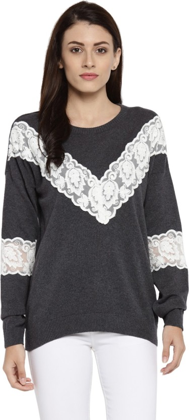 Annabelle by Pantaloons Casual Full Sleeve Solid Women