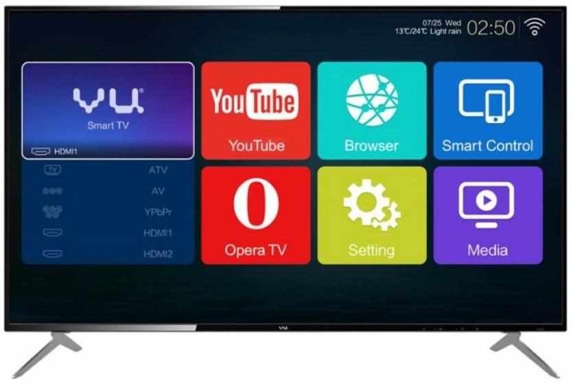 Vu 109cm (43 inch) Full HD LED Smart TV
