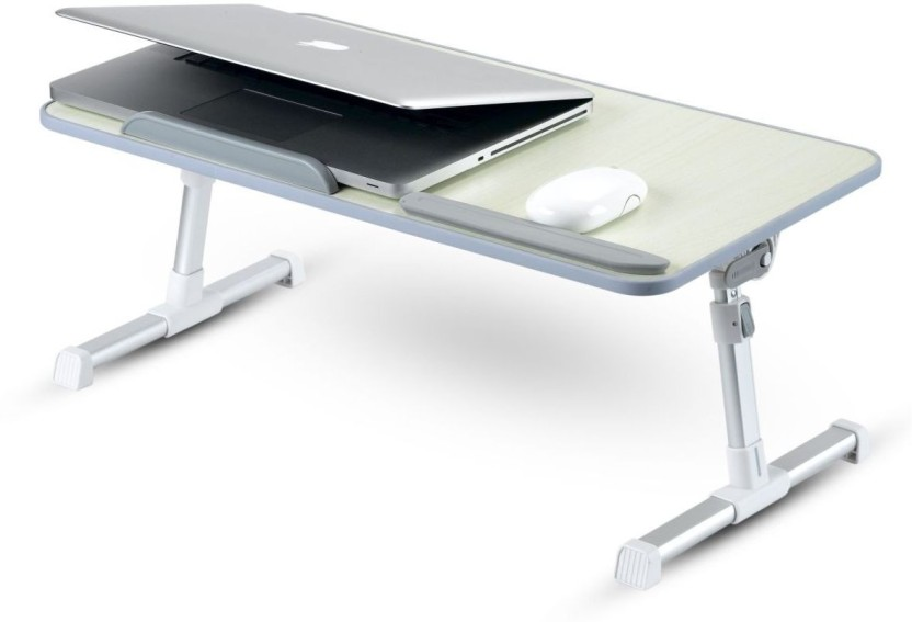 Portronics Cool Pad Engineered Wood Portable Laptop Table