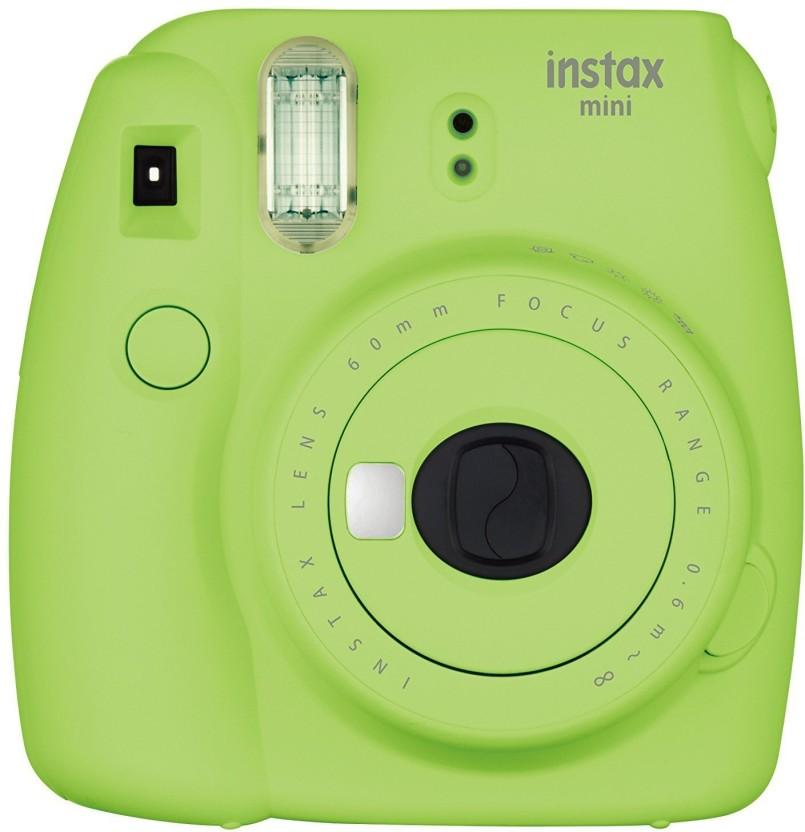 Fujifilm Mini 9 Lime Green Instant Camera