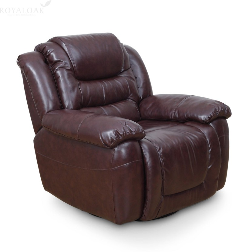 RoyalOak Wave Bonded Leather Manual Recliners