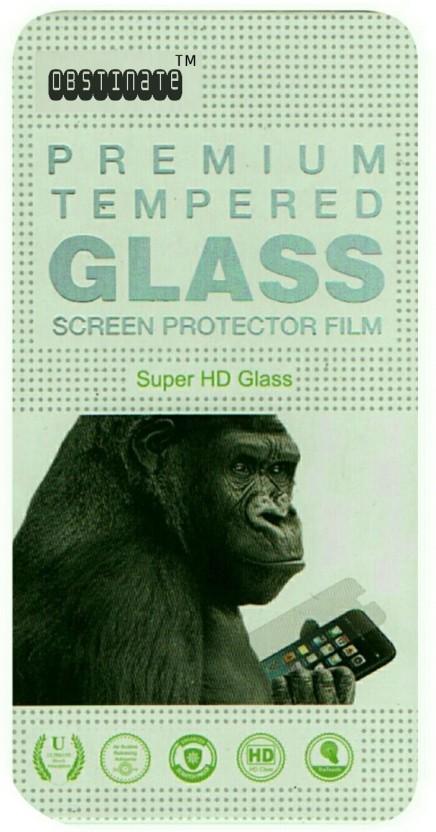 BLACK GORILLA Tempered Glass Guard for Gionee Gpad G3