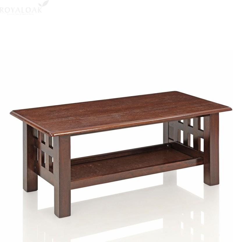 RoyalOak Sydney Solid Wood Coffee Table