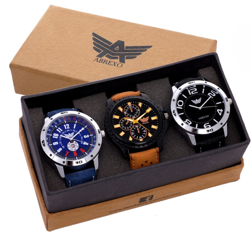 Abrexo Abx8009-Gents Exclusive (Casual+PartyWear+Formal) Epic Series Watch  - For Men