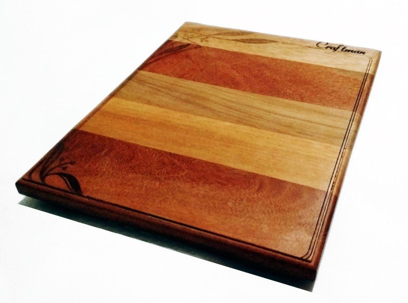 CRAFTMAN Craftman Cheese RS Chopping Board - Cutting Wooden Cutting Board