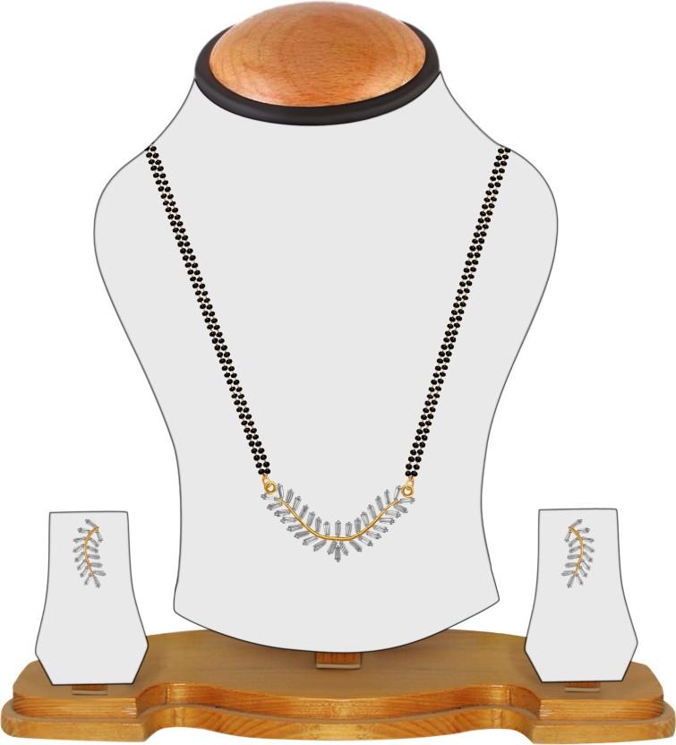 American Diamond Indian Tradition Alloy Tanmaniya