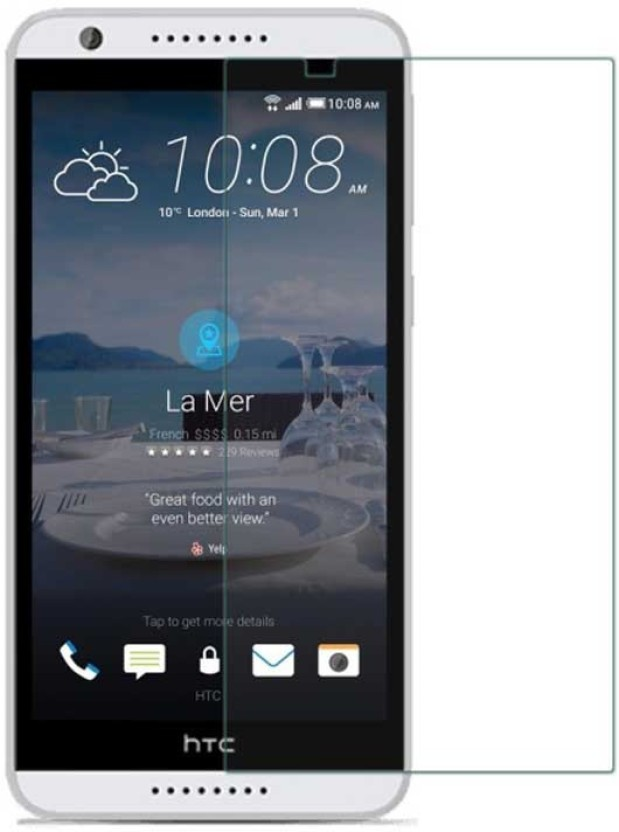 Spectacular Ace Tempered Glass Guard for HTC Desire 820S