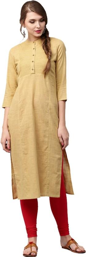 Jaipur Kurti Solid Women