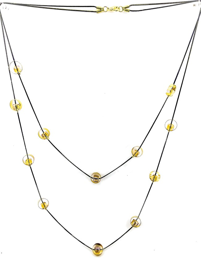 Jaisvi collection Trendy Necklace Chain For Women And Girls Alloy Necklace