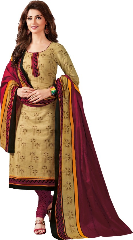 Reya Cotton Printed Salwar Suit Dupatta Material