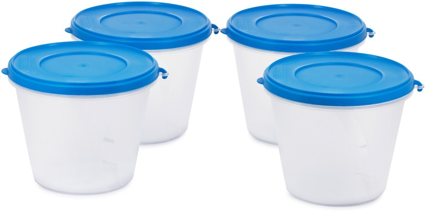 Flipkart SmartBuy Nesterware Containers Pack of 4 with Flexi Lid