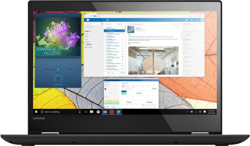Lenovo Core i5 7th Gen - (8 GB/1 TB HDD/Windows 10 Home) Yoga 520 2 in 1 Laptop