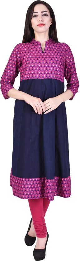 The Style Story Printed Women Anarkali Kurta