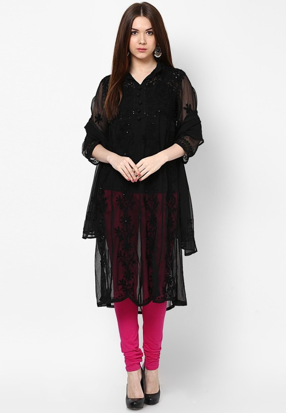 Crease & Clips Casual Embroidered Women