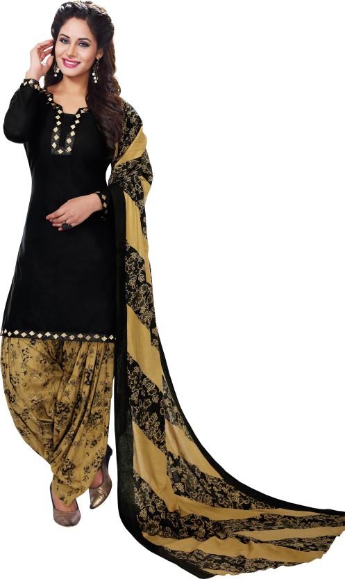 Fashion Valley Cotton Printed Salwar Suit Dupatta Material