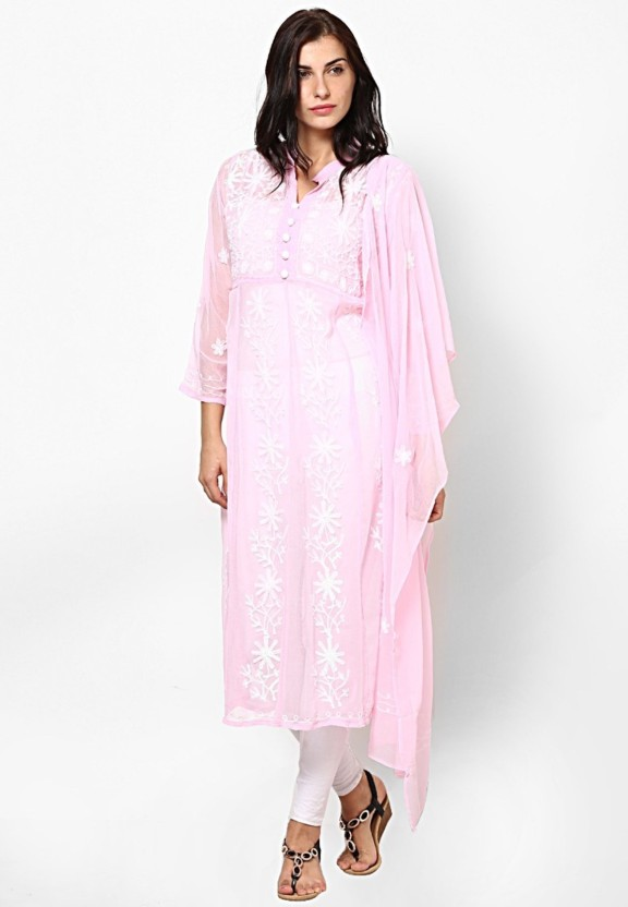 Crease & Clips Embroidered Women