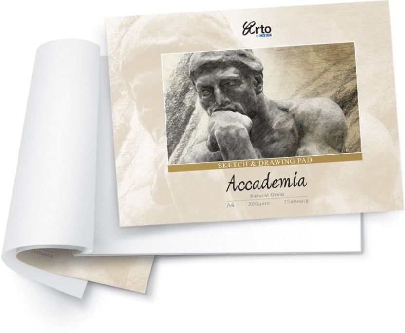 Campap Accademia Natural Grain A4 Drawing Paper