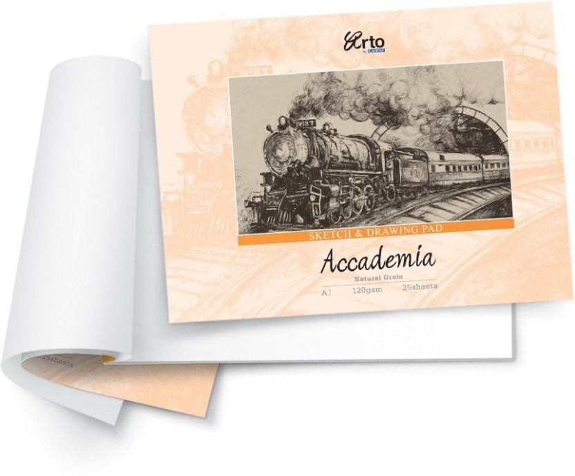 Campap Accademia Natural Grain A3 Drawing Paper