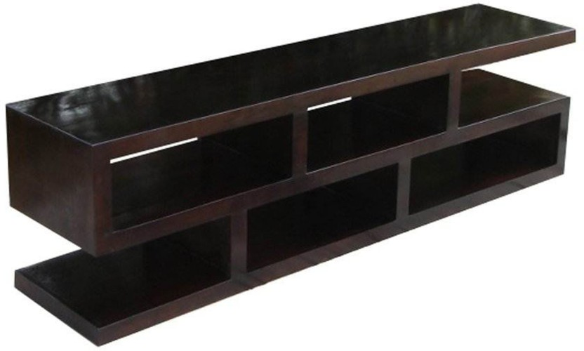 TimberTaste SLINE OPEN Solid Wood TV Entertainment Unit