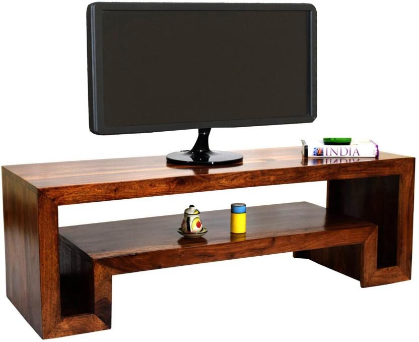 TimberTaste HEMA OPEN Solid Wood TV Entertainment Unit