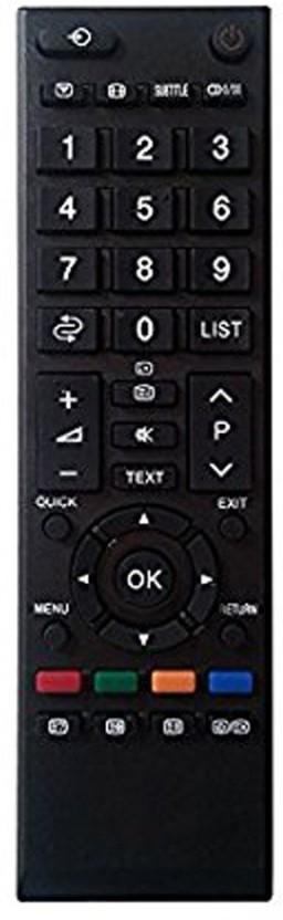 Nobita Compatible Toshiba LED, TCD TV Remote Remote Controller