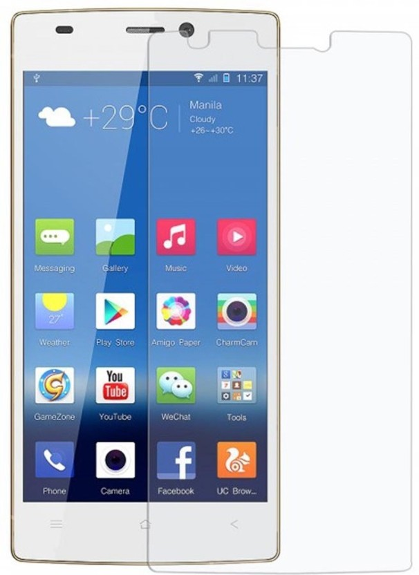 Fortune Mart Tempered Glass Guard for GioneeElife S5.5