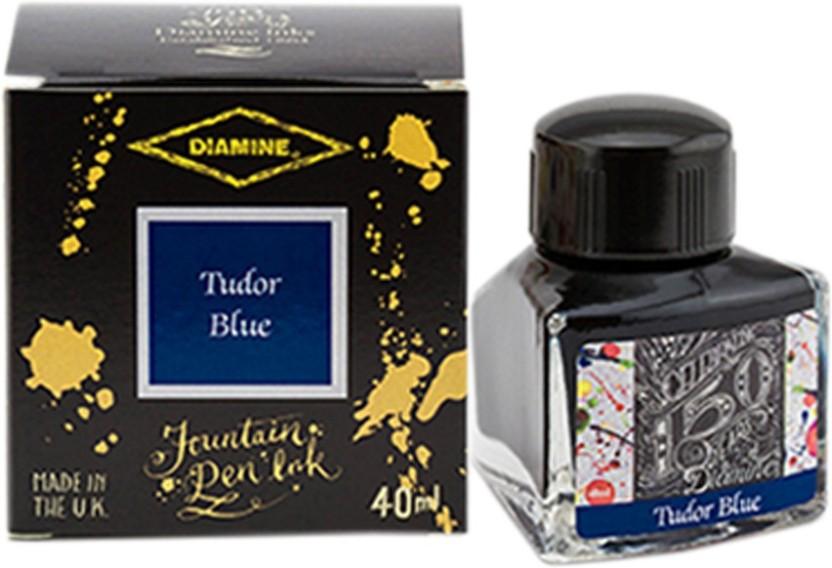 DIAMINE 40ml Blue Fountain Pen Ink - 150 Year Anniversary Edition Ink Bottle