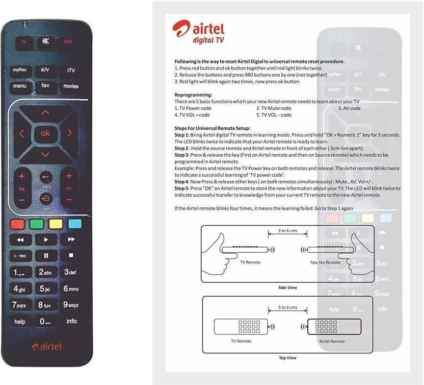 Airtel rmot04 Remote Controller