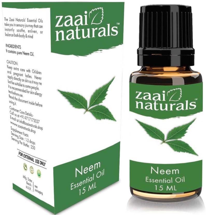 zaai naturals Pure Neem Essential Oil