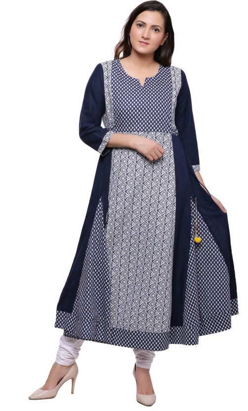 Ayan Printed Women Anarkali Kurta